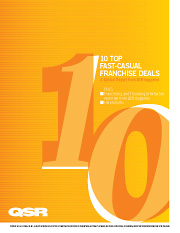 "10 Top Fast Casual Franchise Deals<br><span style=""font-size: 60%;"">Published January 2010</span>"